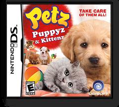 Petz - Puppyz & Kittenz DS cover (BUFE)