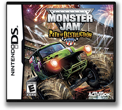 Monster Jam - Path of Destruction DS cover (BUJE)
