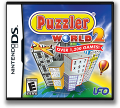 Puzzler World 2 DS cover (BVEE)