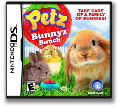 Petz - Bunnyz Bunch DS cover (BVGE)