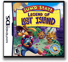 JumpStart - Legend of Lost Island DS cover (BVHE)