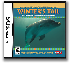 Winter's Tail - How One Little Dolphin Learned to Swim Again DS cover (BWUE)