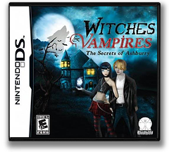 Witches & Vampires - The Secrets of Ashburry DS cover (BWVE)