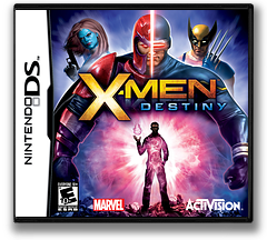 X-Men - Destiny DS cover (BXYE)