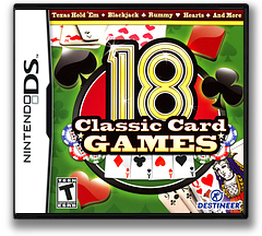 18 Classic Card Games DS cover (BY8E)