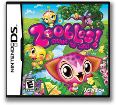 Zoobles! Spring to Life! DS cover (BZ6E)