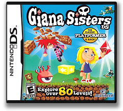 Giana Sisters DS DS cover (BZIE)
