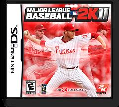 Major League Baseball 2K11 DS cover (BZVE)