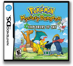 Pokémon Mystery Dungeon - Explorers of Sky DS cover (C2SE)