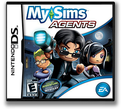 MySims - Agents DS cover (C38E)