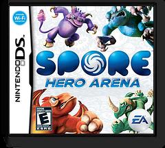 Spore Hero Arena DS cover (C49E)