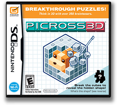 Picross 3D DS cover (C6PE)