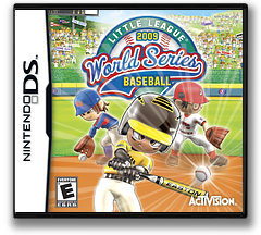 Little League World Series Baseball 2009 DS cover (C7BE)