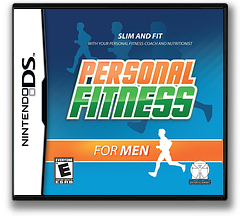 Personal Fitness for Men DS cover (C7ME)