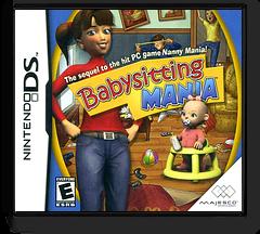 Babysitting Mania DS cover (CBYE)
