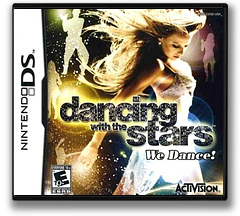 Dancing with the Stars - We Dance! DS cover (CD3E)