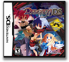 Disgaea DS DS cover (CDGE)