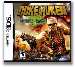 Duke Nukem - Critical Mass DS cover (CDNE)