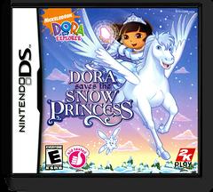Dora the Explorer - Dora Saves the Snow Princess DS cover (CDRE)