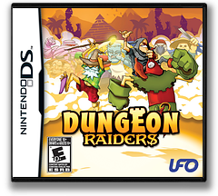 Dungeon Raiders DS cover (CDVE)
