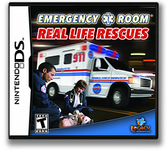 Emergency Room - Real Life Rescues DS cover (CEJE)