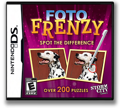 Foto Frenzy - Spot the Difference DS cover (CF2E)
