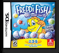 Freddi Fish - ABC under the Sea DS cover (CF3E)