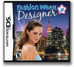 Fashion Week Jr. - Designer DS cover (CF8E)