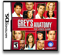 Grey's Anatomy - The Video Game DS cover (CG5E)