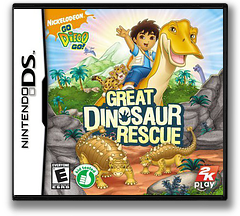 Go, Diego, Go! - Great Dinosaur Rescue DS cover (CGDE)