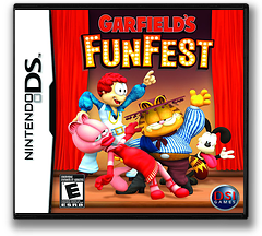 Garfield's Fun Fest DS cover (CGFE)
