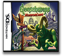 Goosebumps HorrorLand DS cover (CGPE)