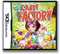 Candace Kane's Candy Factory DS cover (CKCE)