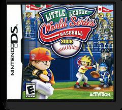 Little League World Series Baseball 2008 DS cover (CLHE)