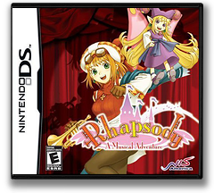 Rhapsody - A Musical Adventure DS cover (CM6E)