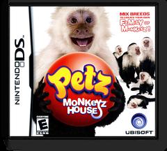 Petz - Monkeyz House DS cover (CM8E)