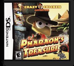 Crazy Chicken Adventure - The Pharaoh's Treasure DS cover (CM9E)