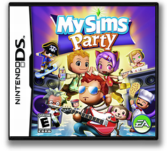 MySims - Party DS cover (CMSE)