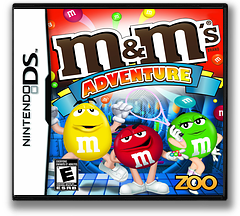 M&M's - Adventure DS cover (CMXE)