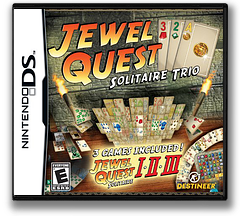 Jewel Quest - Solitaire Trio DS cover (CNAE)