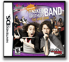 The Naked Brothers Band - The Video Game DS cover (CNBE)