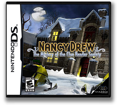 Nancy Drew - The Mystery of the Clue Bender Society DS cover (CNME)