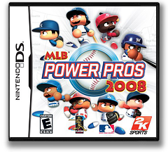 MLB Power Pros 2008 DS cover (CPPE)