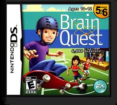 Brain Quest - Grades 5 & 6 DS cover (CQBE)