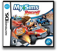 MySims - Racing DS cover (CQRE)