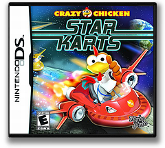 Crazy Chicken - Star Karts DS cover (CRYE)