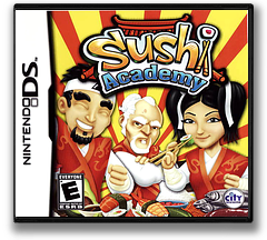 Sushi Academy DS cover (CSDE)