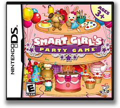 Smart Girl's Party Game DS cover (CSYE)