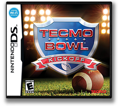 Tecmo Bowl - Kickoff DS cover (CTBE)