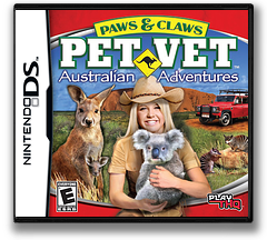 Paws & Claws - Pet Vet - Australian Adventures DS cover (CTDE)